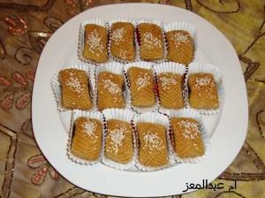 طريقة عمل المقروض الليبي بالصور - حلويات رمضان 2014
