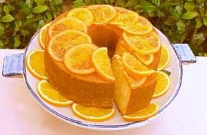 كيك البرتقال بالصور