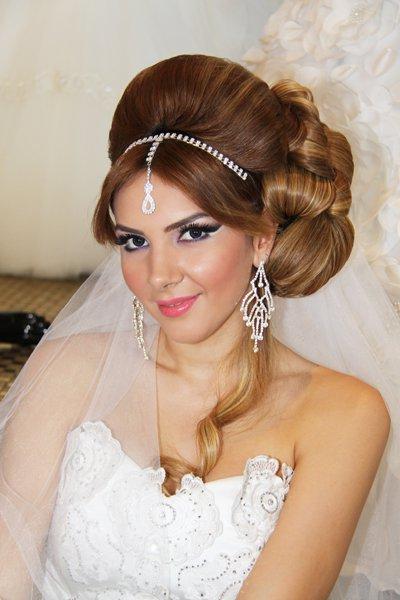 صور لاجمل تسريحات شعر للعرائس تركية 2015