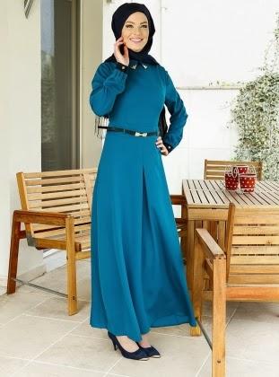 فستان محجبات تركي شتشوي