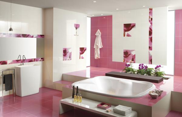 ديكورات حمامات عصرية فرنسية