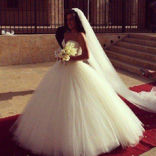 اجمل فساتين زفاف في العالم 2015