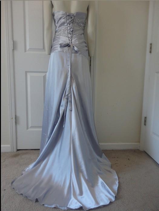 اجمل فساتين زفاف سيلفر 2015