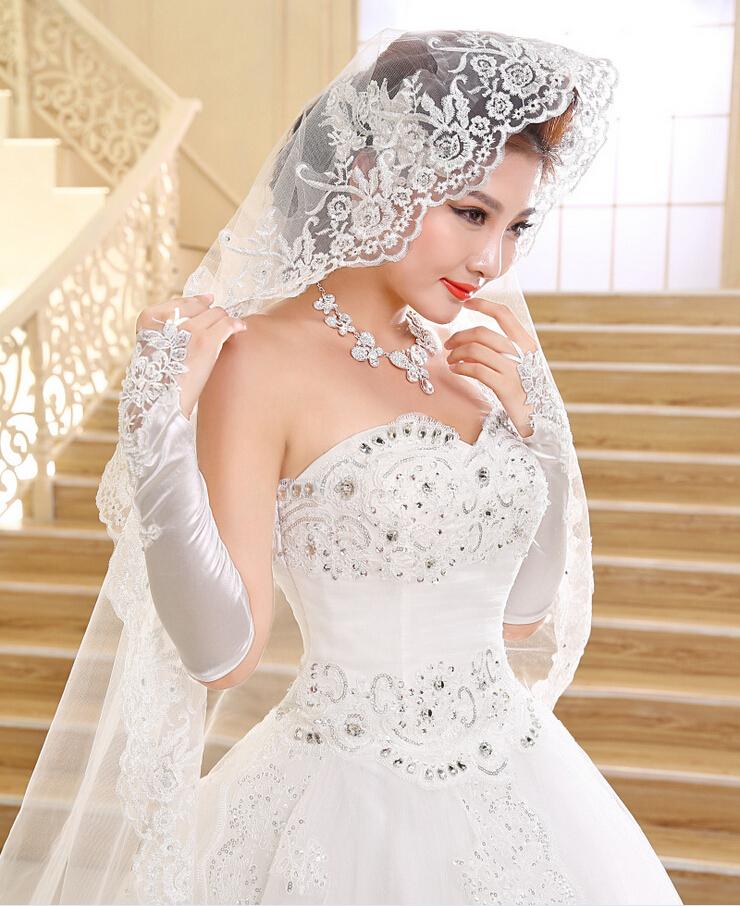 فساتين زفاف رائعه صينية جميلة موضة 2015