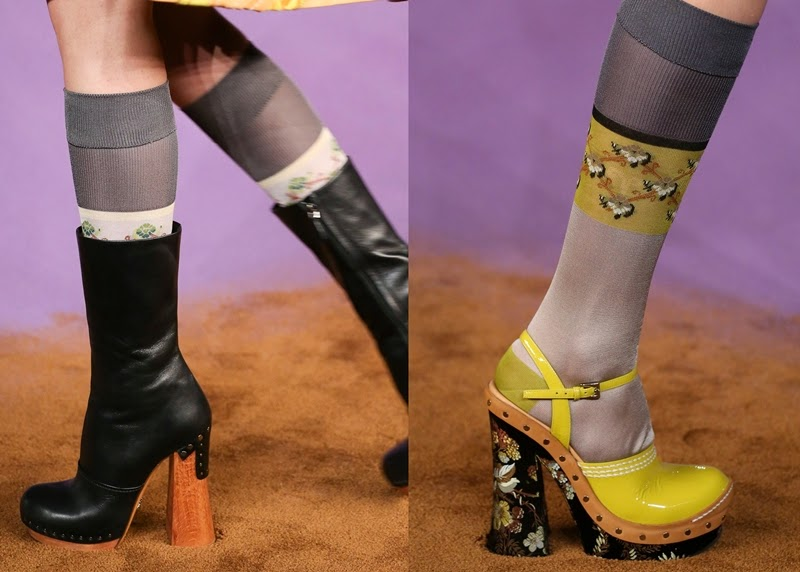 بوت بناتي ماركة Women's shoes prada2015