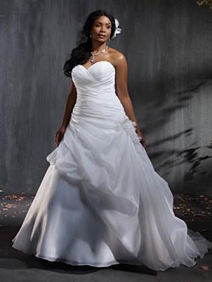 فساتين زفاف ستان رائعه 2015