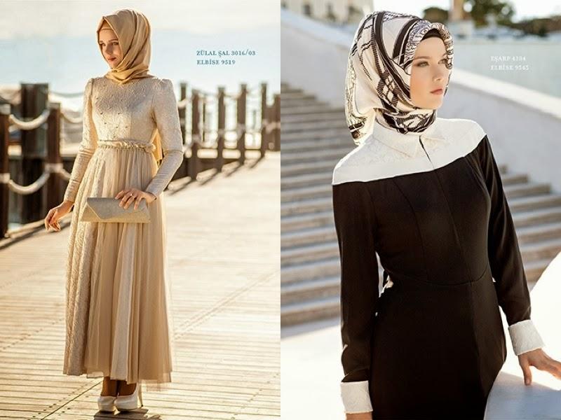 8616d9bcb55b3 ملابس محجبات تركية للعيد 2015