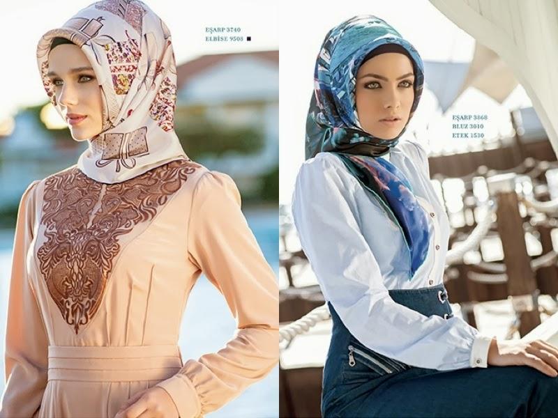اشيك موديلات للمحجبات التركية 2015