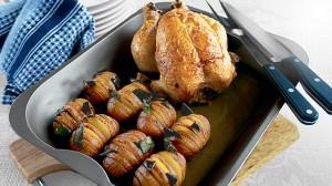 اعداد طهي الدجاج في الفرن من اوربا