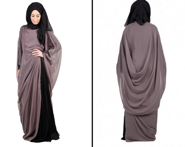 افخم عبايات محجبات ملونة مصرية موضة 2015