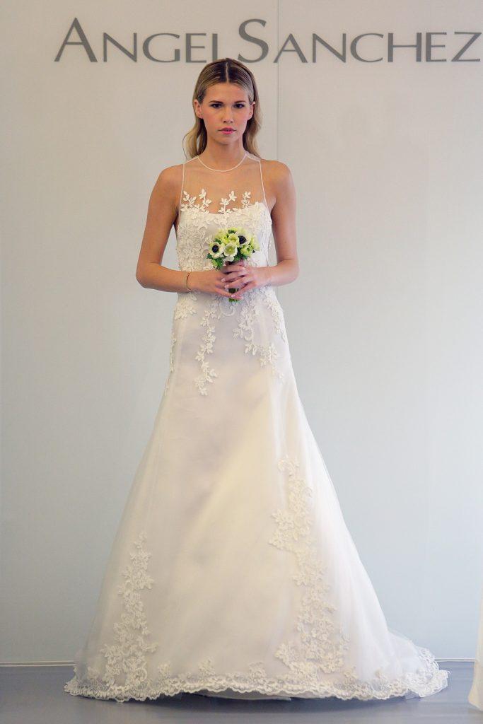 فساتين اسبانية لحفلات الزفاف 2015