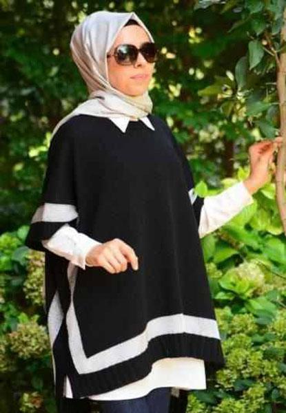 ملابس محجبات تصميمات نعيمة كامل شتاء عام 2015