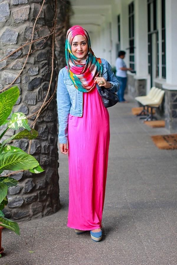ملابس محجبات شتوية 2015