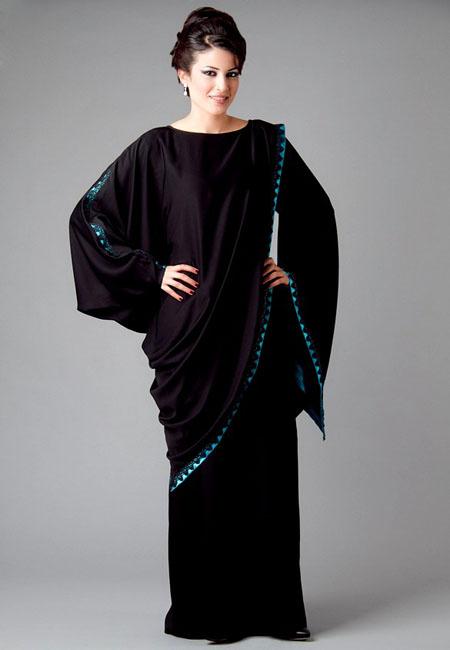 تصميمات عبايات دبي حديثة 2015