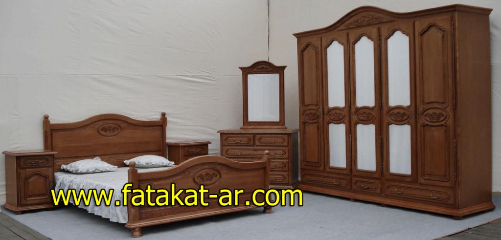 غرف نوم خشبية 2015