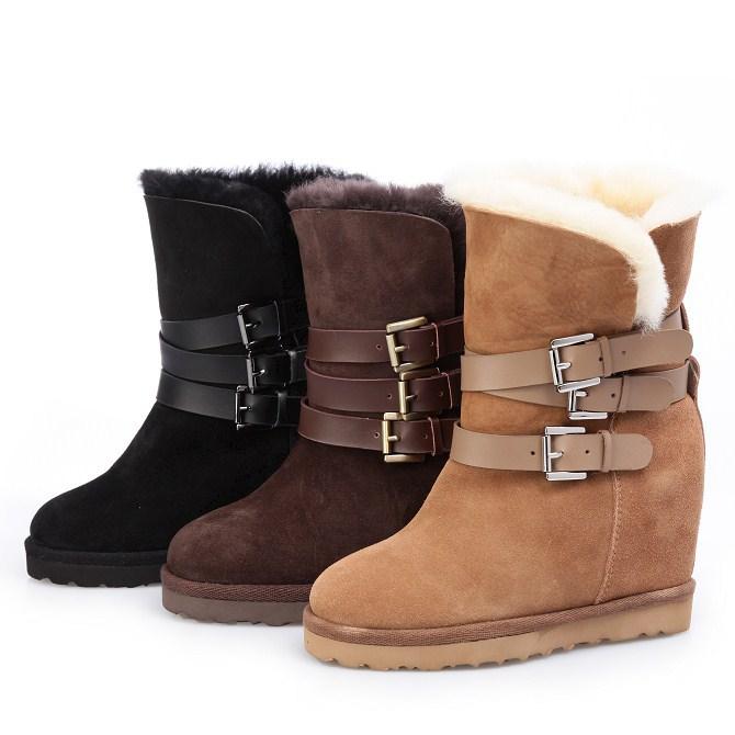احذية قطيفة جميلة شتوية لعام هف بوت بناتي رائع 2015
