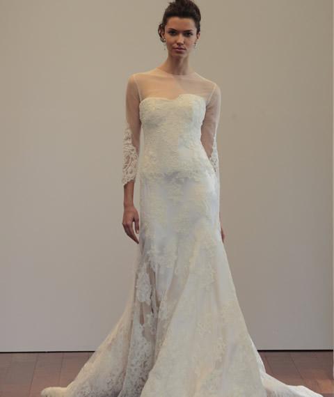اجمل فساتين زفاف لعام 2015
