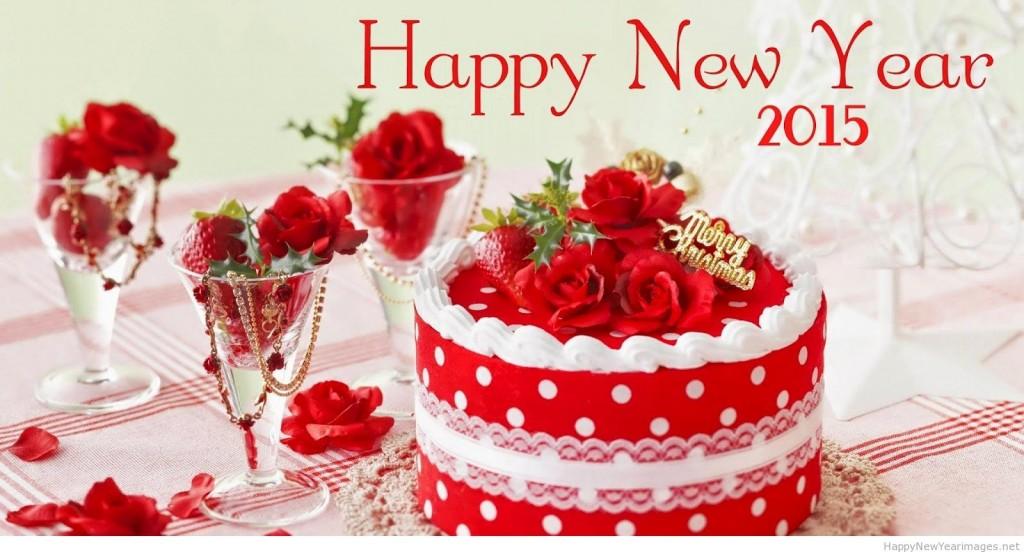 تورتة راس السنة الجديدة 2015