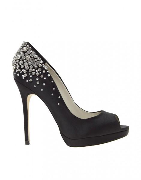 احذية جميلة سوداء 2015