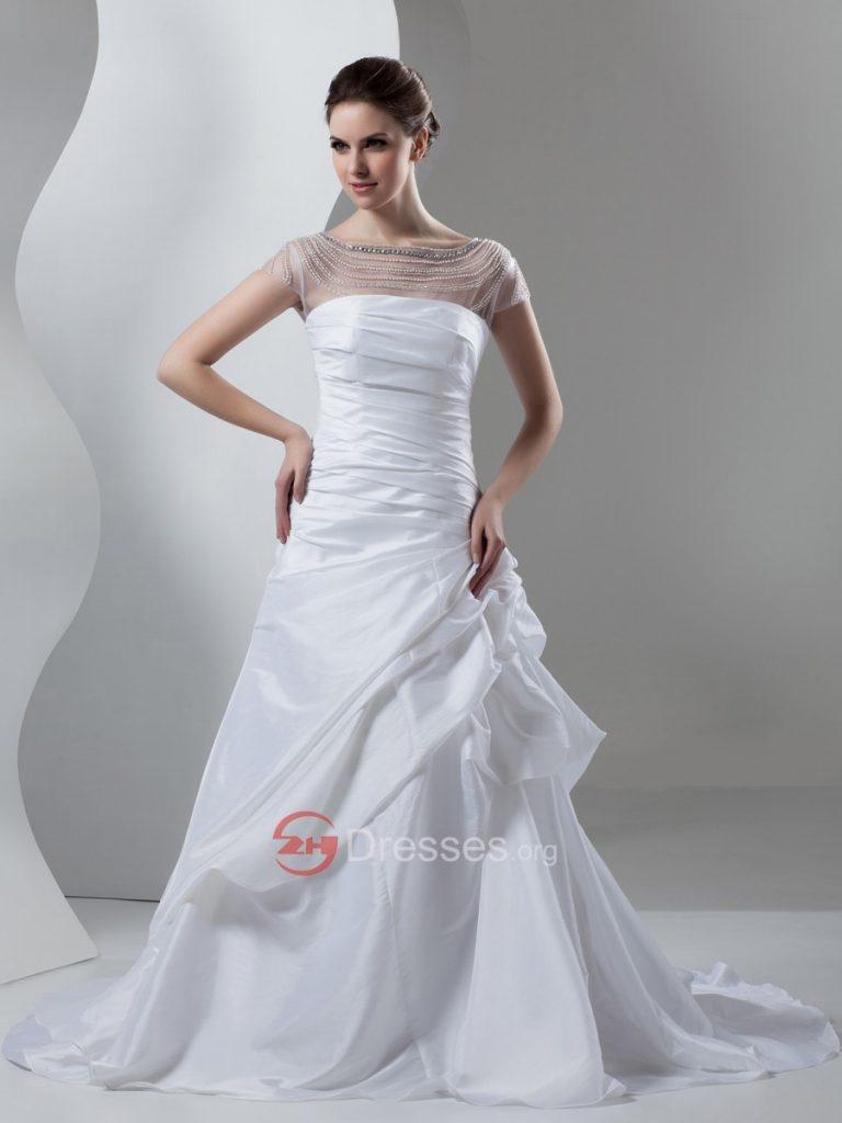 فساتين زفاف شيك 2015