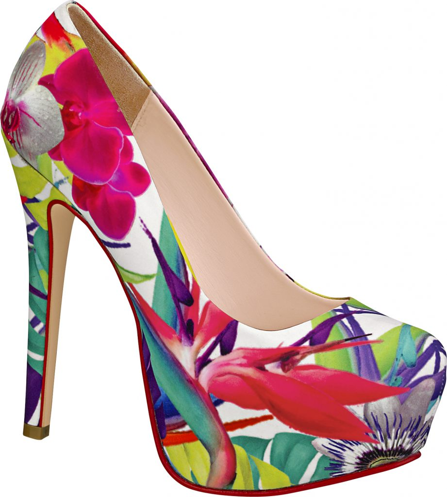 اجمل احذية ملونة 2015