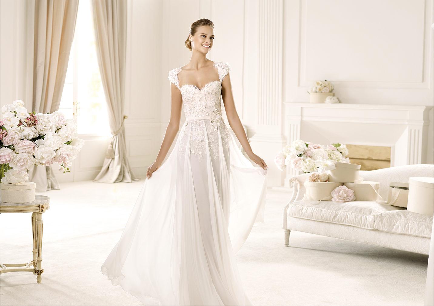 اروع فساتين زفاف 2016