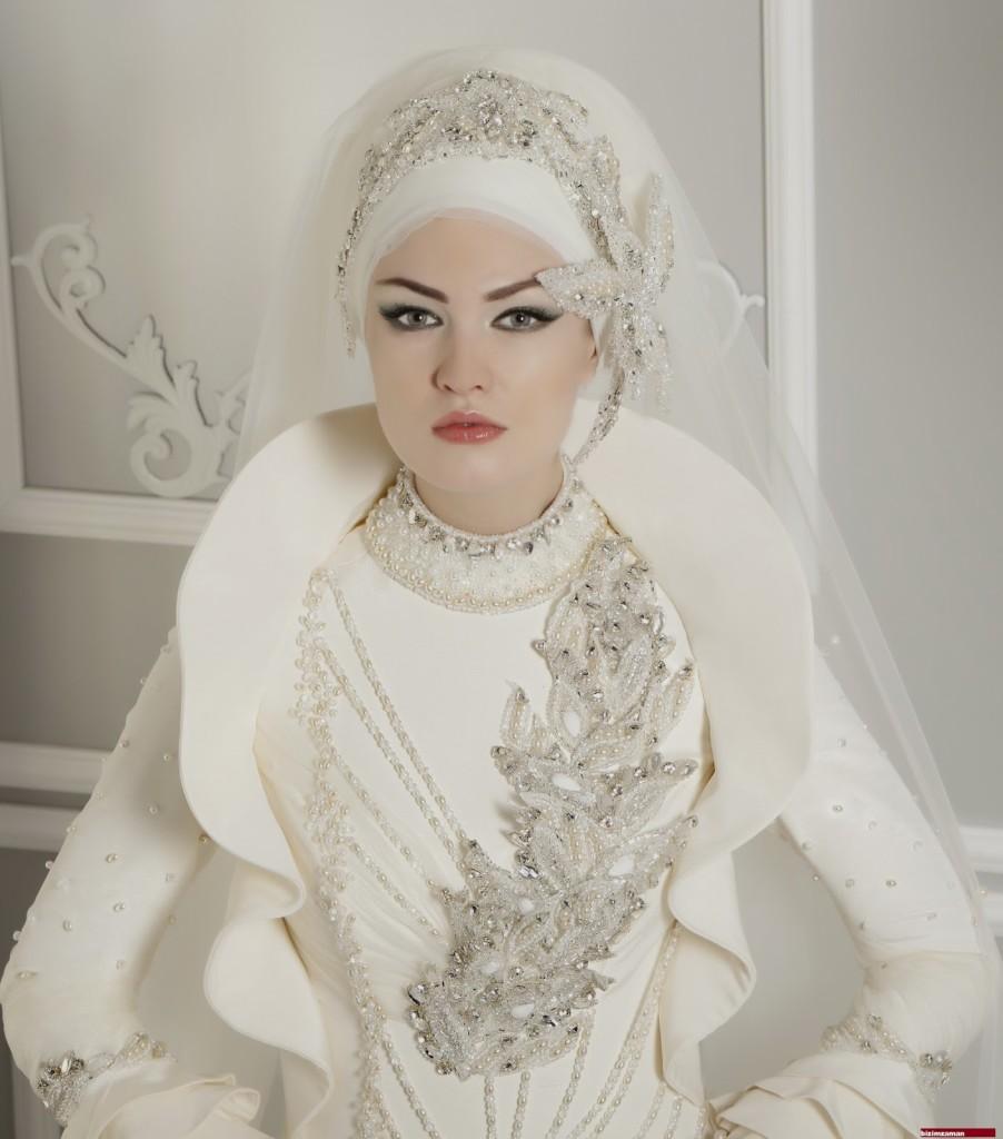 اشيك فساتين زفاف تركي 2015