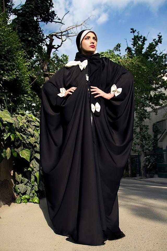 عبايات الخليجي في شكلها 2015