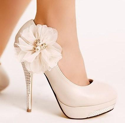 اجمل احذية العرائس 2015