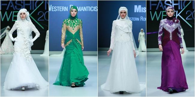 احلى فساتين زفاف للمحجبات 2015