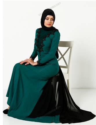 ملابس محجبات تركية ماركات عالمية دانتيل