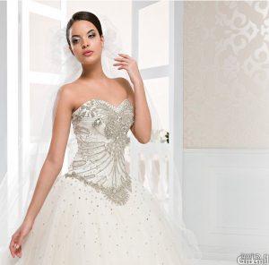 فستان تركي لحفلات الزفاف