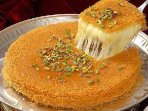 حلويات رمضانية - الكنافة المكثفة 2014