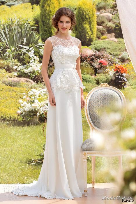 فساتين زفاف صيف 2014