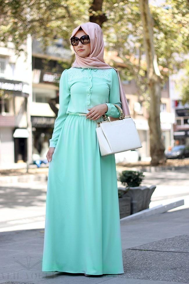 minel-ask-twww.fatakat-ar.comesettur-veil-vogue-mint-detay-elbise-002