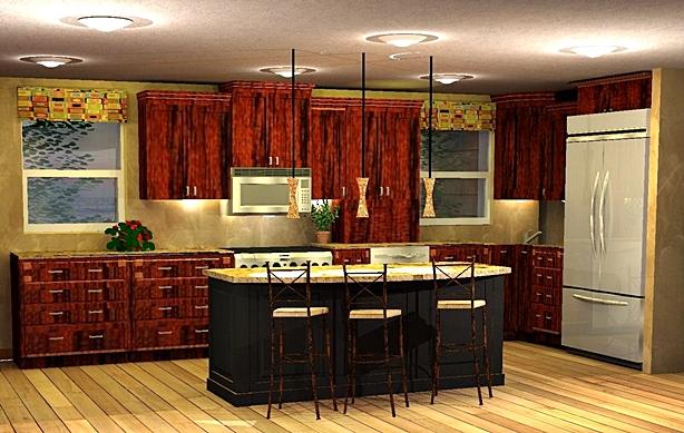 مطابخ خشبية حديثة 2016