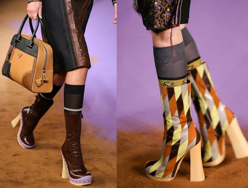 احذية نسائية ماركة Women's shoes prada2015