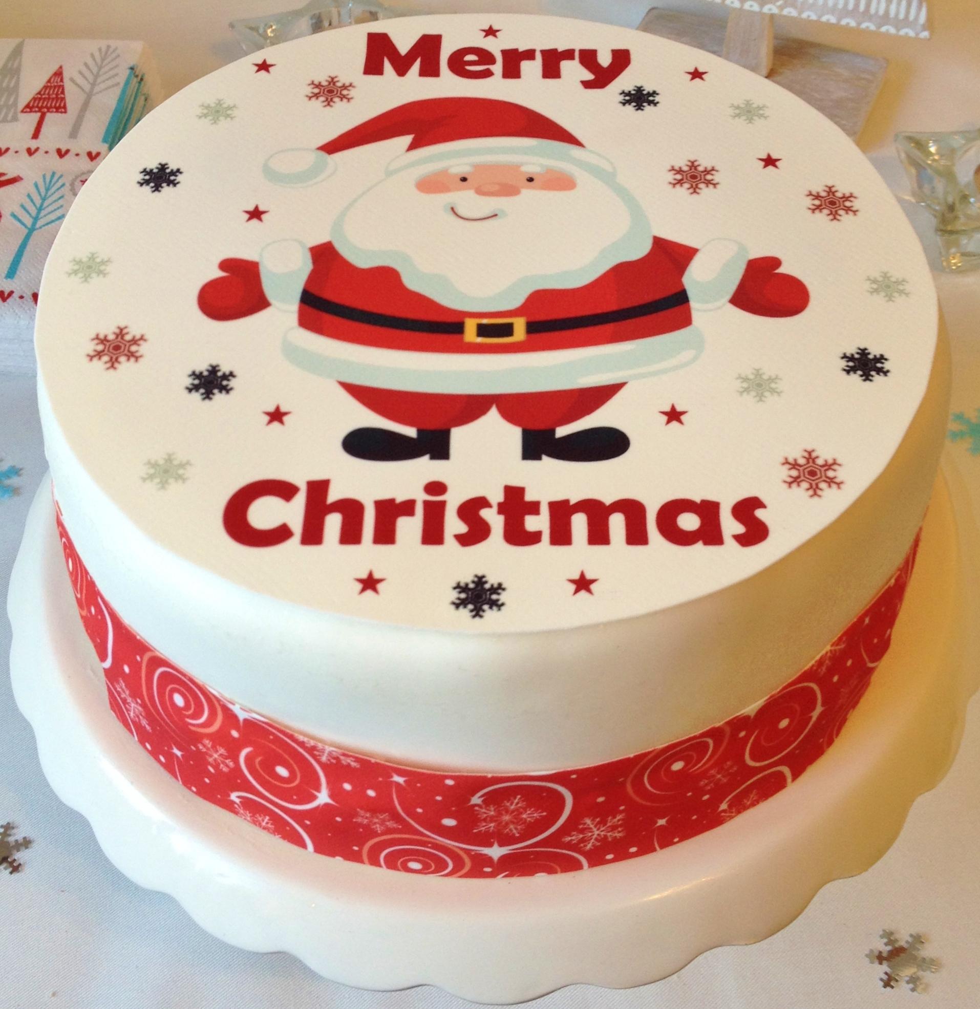 صور تورته الكريسماس 2015، افكار تورتات رأس السنة christmas cake 2015