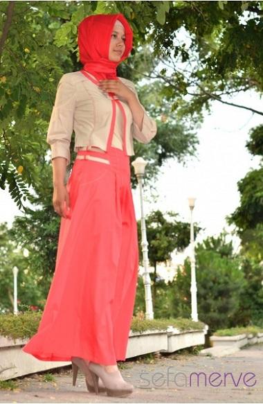 اجمل ازياء محجبات تركية صيف 2015