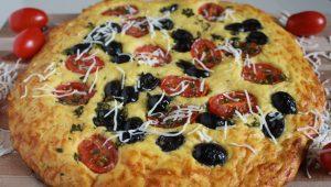 البيتزا بالبطاطس بشكل جديد