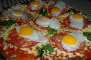 بيتزا البيض في رمضان اكلات صحية 2015