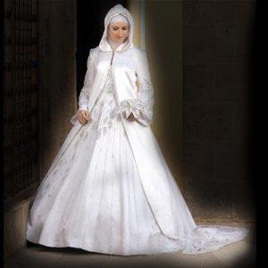 فساتين زفاف محجبات اندويسية 2015