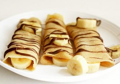 كريب الموز الحلو