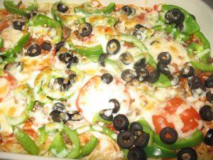 وصفات طبخ مكرونة البيتزا بالصور
