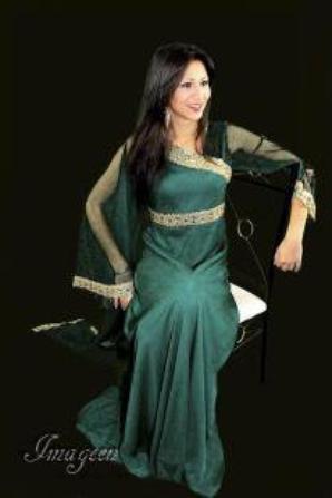 www.fatakat-ar.com Evening lace veiled 2015