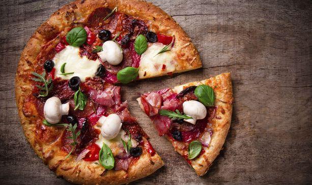 بيتزا الخضروات الجميلة بالصرو 2015