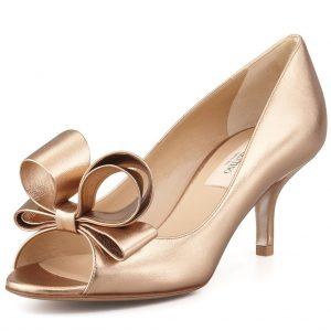 اروع واشيك احذية زفاف للعرائس 2017