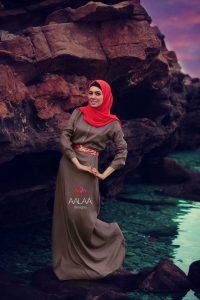 البني هو ازياء محجبات بنات مصرية 2015 للصيف