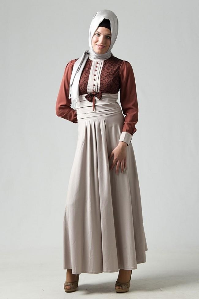 ملابس محجبات للحفلات صيفية 2015