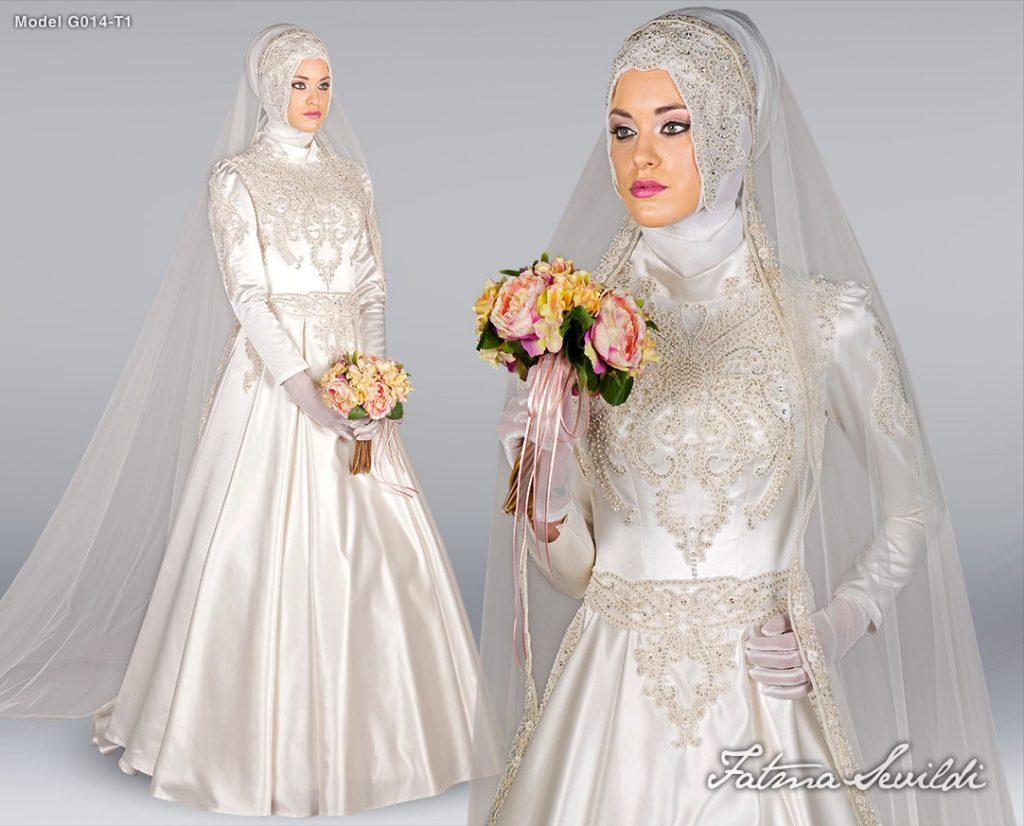 اجمل فساتين زفاف تركية موديلات حديثة لبنات مصر 2015
